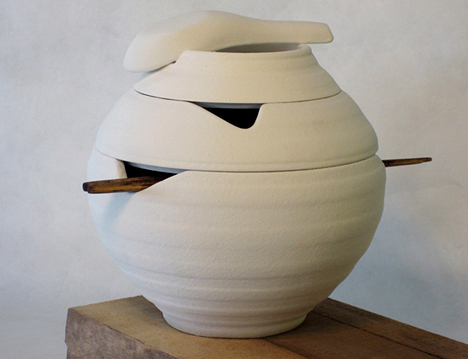 Lantern Shaped Pho Bowl Set